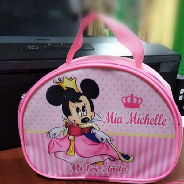 Minnie Mouse Queen Party Favors Personalized Small Lunch Bags Pack of 50