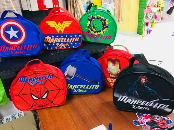 Avengers Superheroes Party Favors Personalized Small Lunch Bags Pack of 50