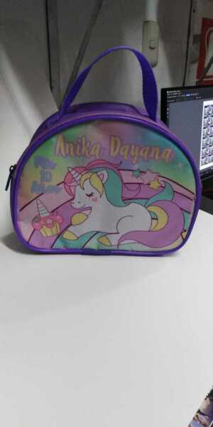Unicorn Pony Party Favors Personalized Small Lunch Bags Lunch Boxes Pack of 50
