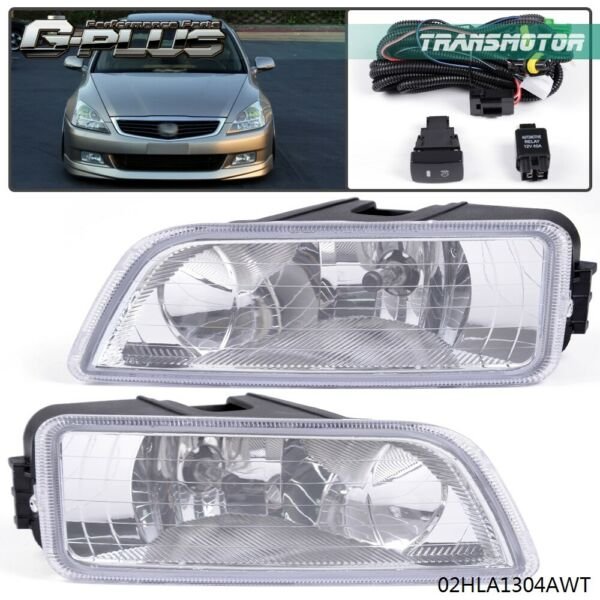 For 2003 2004 2005 2006 2007 Honda Accord Acura TL 4DR Bumper Driving Fog Lights