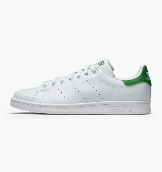 Adidas Originals Men's Stan Smith OG Shoes NEW AUTHENTIC White/Green M20324