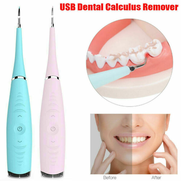 Dental Sonic Scaler Ultrasonic Tooth Whitening Tartar Plaque Remover Teeth Clean