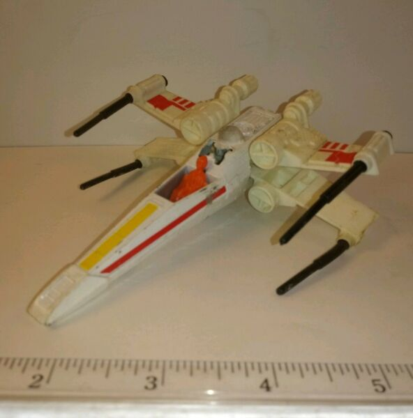 Vintage Original 1978 Kenner Star Wars Die Cast X Wing