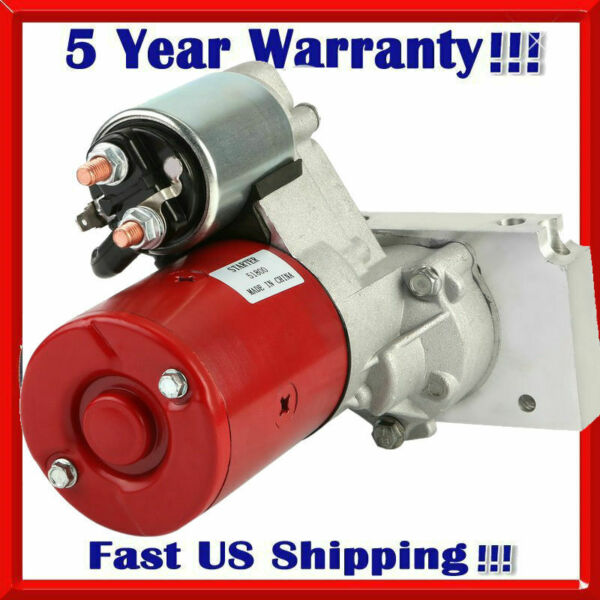 Starter for SBC Chevy High Torque Red 3HP 153 168 Tooth 350 400 Small Block xZ