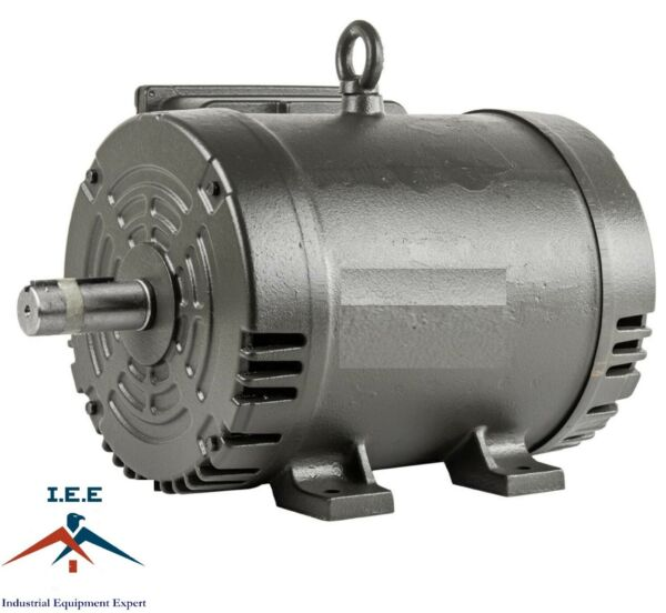 7.5 Hp Electric Motor 3450 RPM 184 T Frame 1 Ph Single Phase 208230 Volt