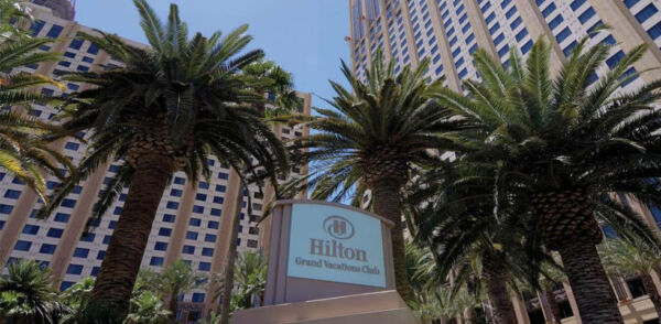 HILTON GRAND VACATIONS CLUB, ON THE BOULEVARD, 14,000 POINTS, ANNUAL,TIMESHARE