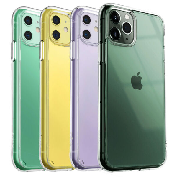 For iPhone 11  11 Pro  11 Pro Max Case Ringke [FUSION] Clear Shockproof Cover