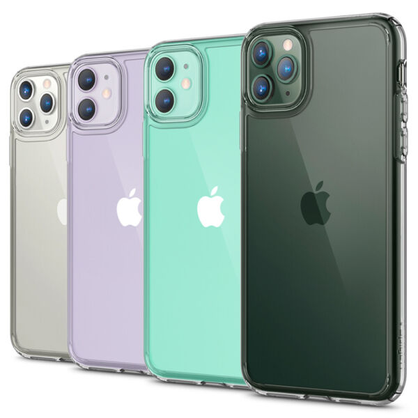 For iPhone 11 11 Pro 11 Pro Max Case  Spigen® [Ultra Hybrid] Clear Slim Cover