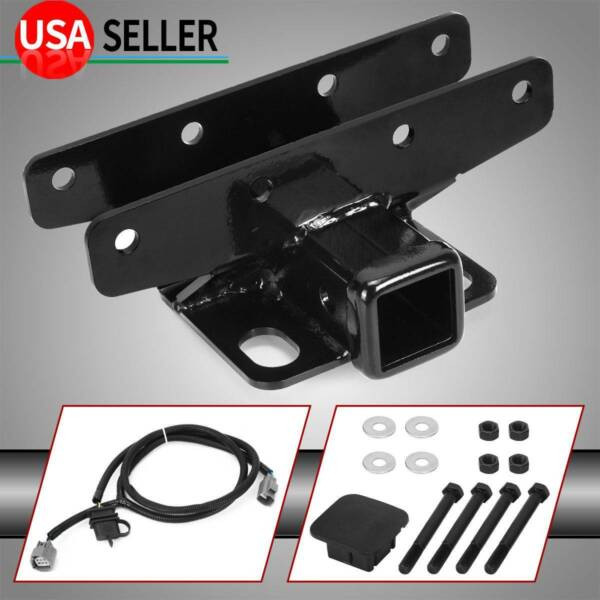 Trailer Hitch Receiver 2quot; amp; Wire KIT for Jeep 2007 2018 Wrangler JK JKU $43.19