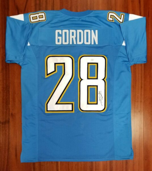 Melvin Gordon Autographed Signed Jersey San Diego Chargers JSA