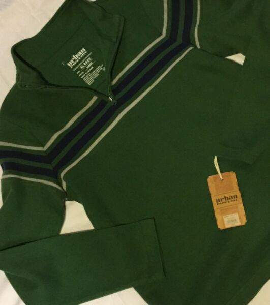 Boys Urban Pipeline Cotton Pull-Over Mock Turtle Neck Shirt Boys Size X Large