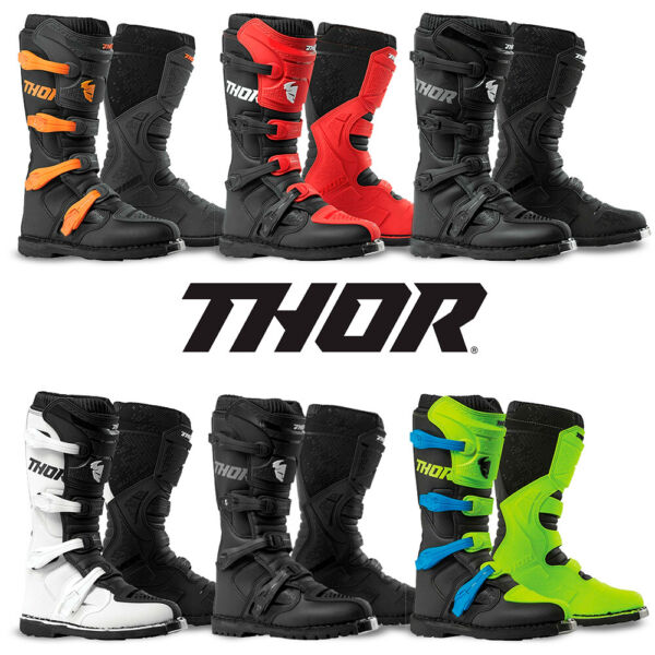 2020 Thor Mens Boots Blitz XP Motocross Offroad Dirt Bike Riding MX ATV Racing $129.95