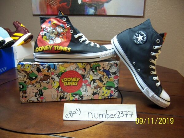 NEW Converse All Star Hi Looney Tunes size 12