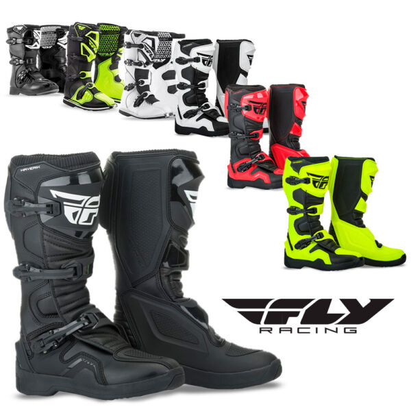 Fly Racing Maverik Motocross Boots Dirt Bike ATV Enduro Motorcycle Off Road MX $129.95