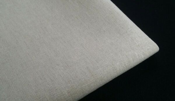 Cotton Launlinen with Linenamp;Rayon softened fabric Natural colorby the yard
