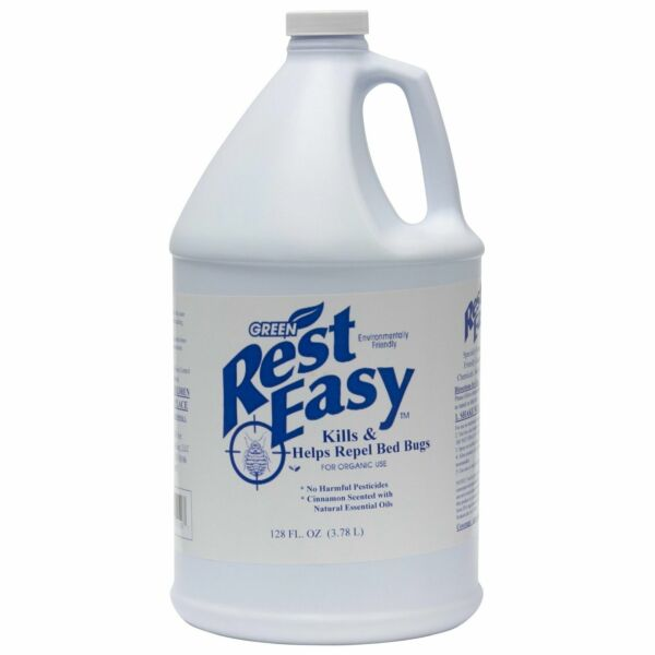 NEW Rest Easy Green Bed Bug Spray