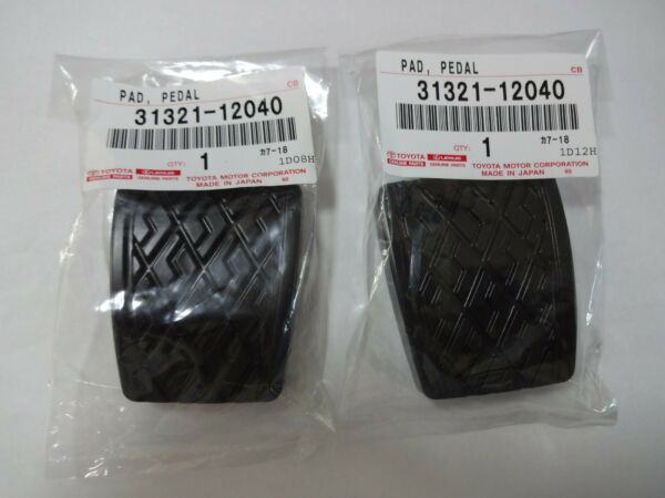 Toyota Brake Clutch Pedal Pad Cover Corolla Camry MR2 4Runner 31321-12040 x2 FS