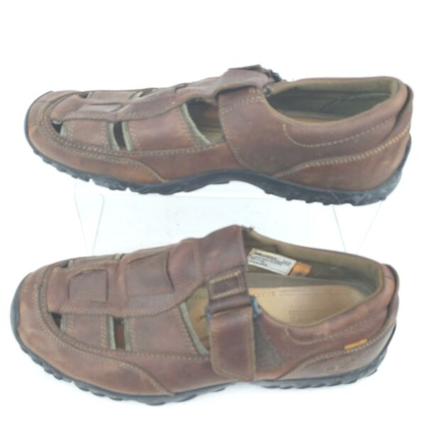Timberland Sandals Brown Buckle Smart Comfort System Mens Size 11M. $34.63