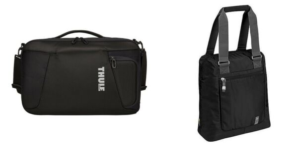 Thule Accent Laptop Backpack 15.6quot; TACLB 116 Case Logic 15.4quot; XNFT 1 XN Tote LOT $179.97