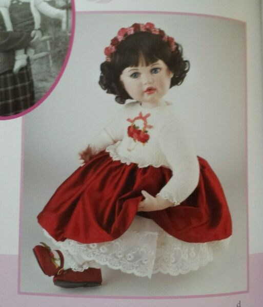 NEW NRFB MARIE OSMOND SUSIE ROSE BOUQUET PORCELAIN  DOLL 15