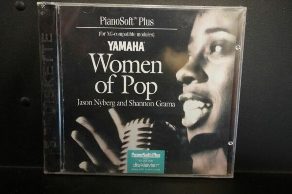 Yamaha Disklavier Piano Soft Plus Woman Of Pop 3.5 inch Floppy Disk $29.99