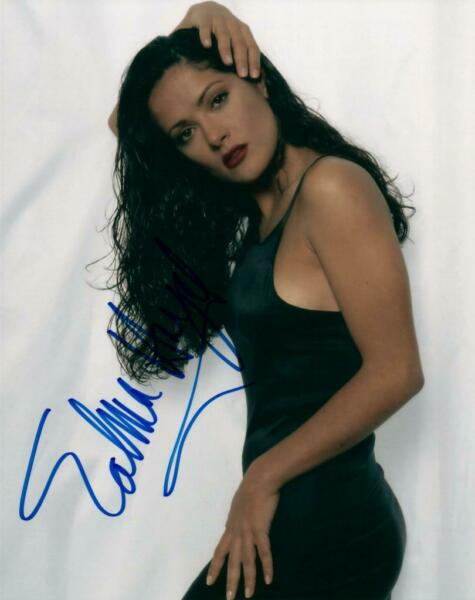 Salma Hayek signed 8x10 Photo Picture autographed VERY NICE + COA