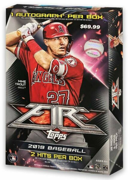 2019 Topps Fire Base Singles (Pick Your Cards) Target Exclusive