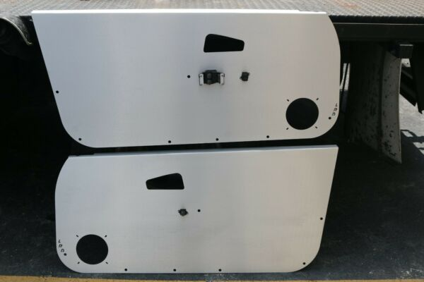 LRB Speed Aluminum Door Panels Fits: Honda Civic 92 95 Coupe Hatch EG Card