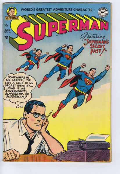 Superman #90 DC Pub 1954 Mitchell Moran copy