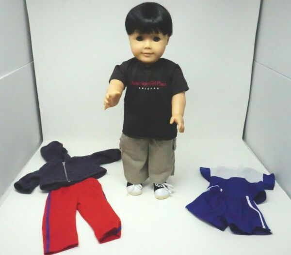 American Girl Pleasant Company Doll Custom Boy With Extra Clothes OOAK