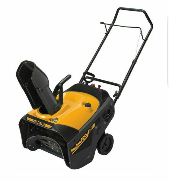Poulan Pro 961840001 Electric Start 136cc Single Stage Snow Thrower 21-inch