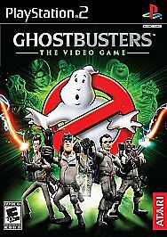 Ghostbusters: The Video Game PS2 Original Actors BILL MURRAY DAN AKROYD Complete