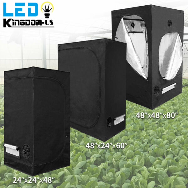 Hydroponics Plant Grow Tent Room Reflective Mylar Non Toxic Indoor Grow Box