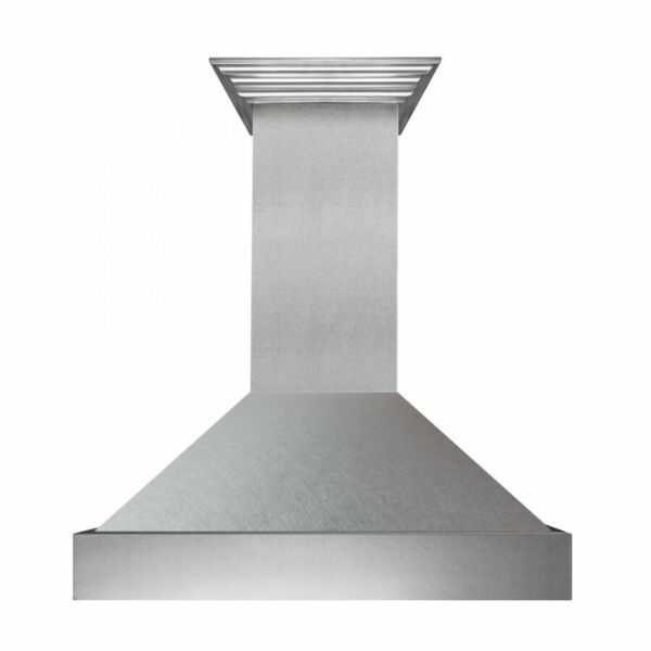 ZLINE 36quot; NEW SNOW STAINLESS STEEL WALL RANGE HOOD CROWN MOLDING 8654SN 36