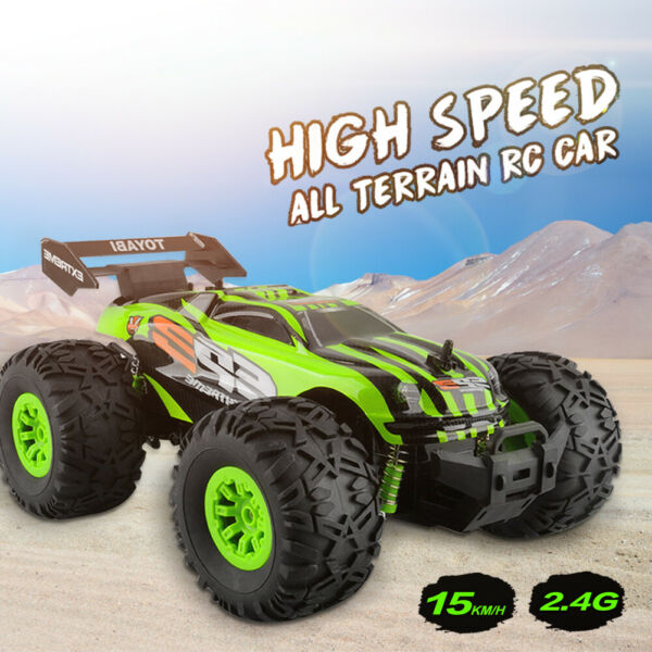High Speed RC Cars 1:18 Scale 2.4GHz 4WD Off Road Remote Control Vehicle 20KM/H