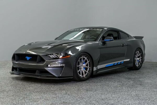 2018 Ford Mustang Petty Track King 2018 Ford Mustang Petty Track King 584 Miles Ghost Silver Coupe 2.3L Eco Boost 6