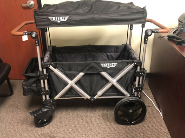 Keenz Wagon 7s Stroller Used  Color Grey