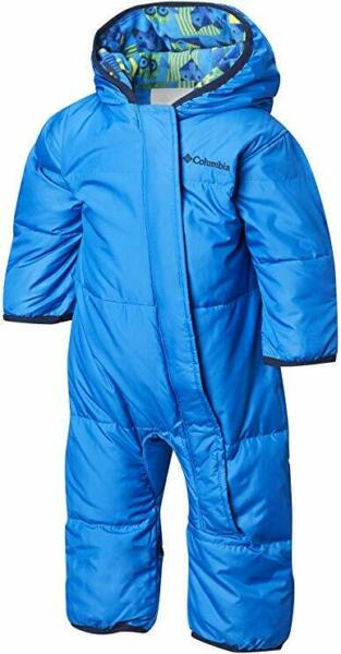 Columbia Baby 12 18 mo. BLUE Snuggly Insulated Water Resistant BUNTING 3086