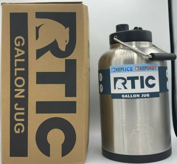 RTIC One Gallon Jug Stainless Steel