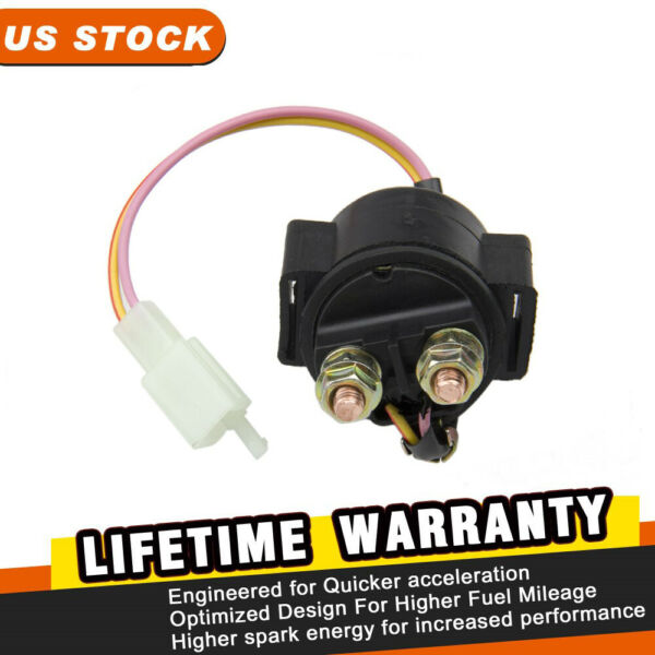 Solenoid  Switch Starter Relay for ATV 50cc 125cc 150cc Scooter with GY6 Motors