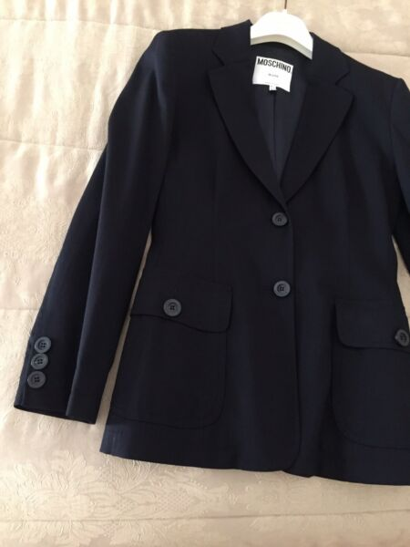 Moschino jacket size 10 U.S made in italy $99.00