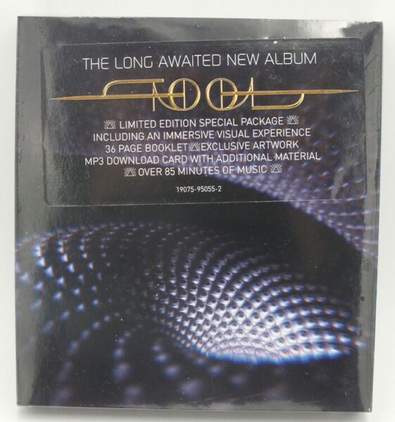 """Tool CD Fear Inoculum Tri Fold 4"""" HD Screen DELUXE EDITION Sealed New Limited"""
