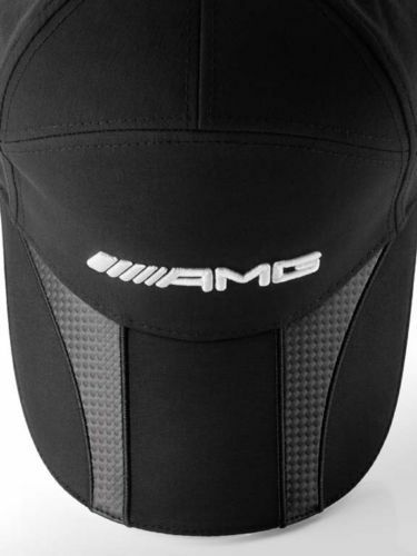 Genuine New Mercedes-Benz AMG Baseball Cap Lettering Carbon Unisex