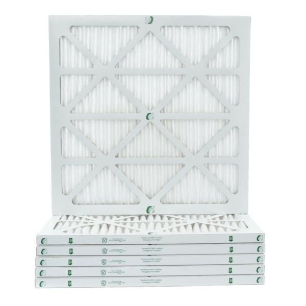 1quot; Inch Glasfloss ZL MERV 10 Pleated Air Filters for AC amp; Furnace. 6 Pack $34.94