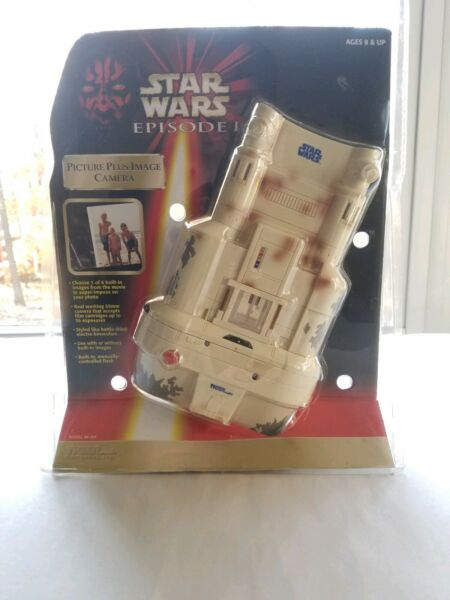 Star Wars Episode I (1999) Tiger Electronics Picture Plus Image 35mm Camera