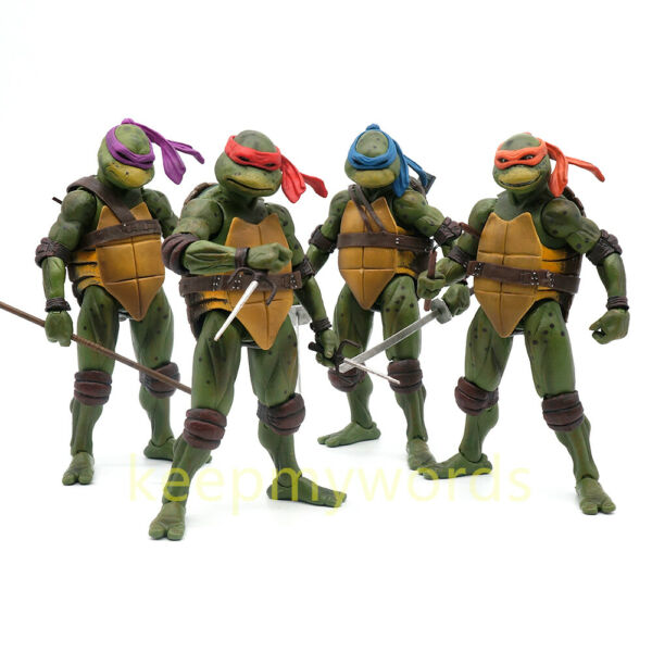 NECA TMNT Teenage Mutant Ninja Turtles Action Figure 1990 Movie 7
