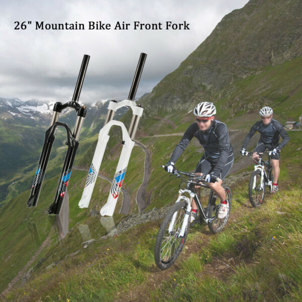 Mountain Bike Suspension Fork 26#x27;#x27; Aluminium Alloy Bicycle Front Fork USA $65.79