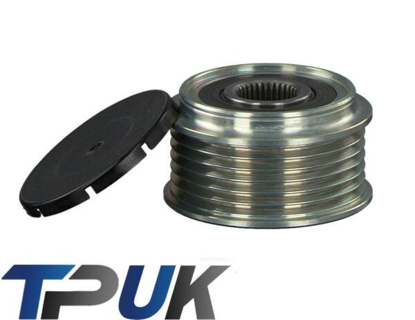 FORD TRANSIT CONNECT ALTERNATOR CLUTCH PULLEY 1.8 TDCI 2002 TO 2013 $65.68