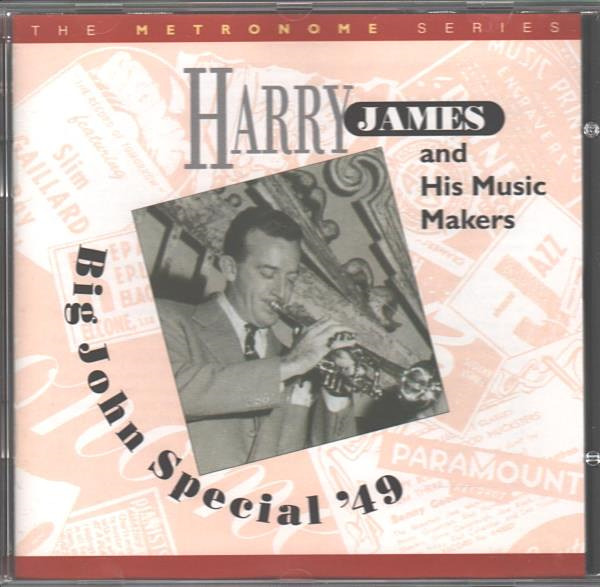 HARRY JAMES amp; HIS MUSIC MAKERS Big John Special #x27;49 BRAND NEW CD IMPORT 25 SONGS