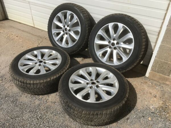 Set of 4 Land Rover 8.5jx20ehx47 Wheels w Bridgestone Blizzak Winter Tire